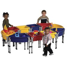 <strong>ECR4kids</strong> 10 Station Sand & Water Center with Lids