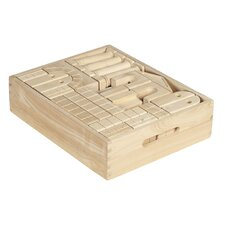 <strong>ECR4kids</strong> Blocks 48 Piece Architectural Blocks with Carry Case