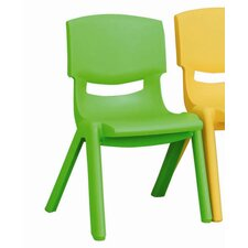 "<strong>ECR4kids</strong> 12"" Polypropylene Classroom Stackable Chair (Set of 6)"