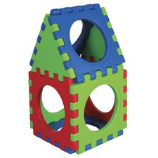 <strong>ECR4kids</strong> 9 Pieces Tunnel and Cube Set