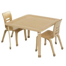 """30"""" Square Bentwood Play Table"""