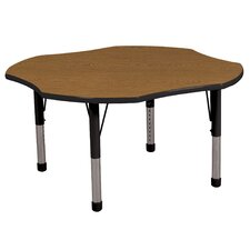 "48"" Clover Adjustable Activity Table"