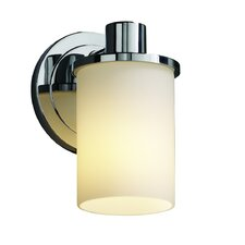 <strong>Justice Design Group</strong> Fusion Rondo 1 Light Wall Sconce