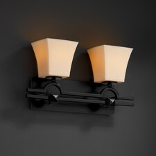 <strong>Justice Design Group</strong> CandleAria Argyle 2 Light Bath Vanity Light