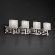 Fusion Heritage 4 Light Bath Vanity Light