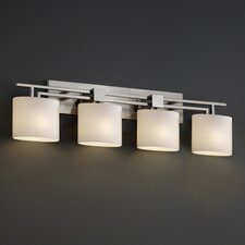<strong>Justice Design Group</strong> Fusion Aero 4 Light Bath Vanity Light