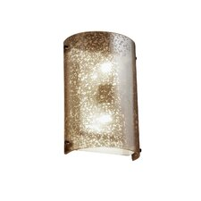 Fusion 2 Light Finials Cylinder Wall Sconce