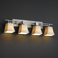 <strong>Justice Design Group</strong> CandleAria Aero 4 Light Bath Vanity Light