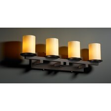 CandleAria Dakota 4 Light Bath Vanity Light