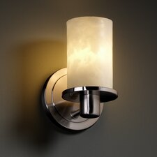 <strong>Justice Design Group</strong> Clouds Rondo 1 Light Wall Sconce