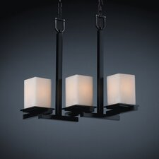 CandleAria Montana 3 Light Chandelier