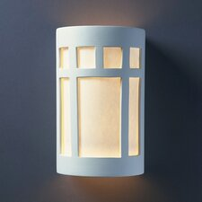 <strong>Justice Design Group</strong> Ambiance 2 Light Wall Sconce