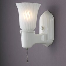 <strong>Justice Design Group</strong> American Classics Chateau Single-Arm 1 Light Wall Sconce