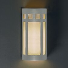 Ambiance Big Prairie 2 Light Outdoor Wall Sconce