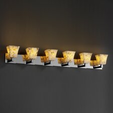 Alabaster Rocks Modular 6 Light Bath Vanity Light