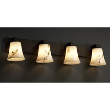 Modular LumenAria 4 Light Bath Vanity Light