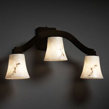 LumenAria Bend 3 Light Wall Sconce