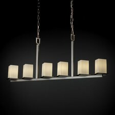 Fusion Montana 6 Light Chandelier