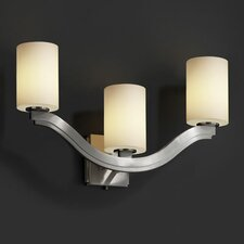 Fusion Bend 3 Light Wall Sconce