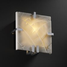 Porcelina Clips 1 Light Wall Sconce