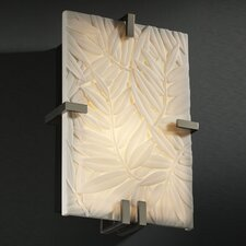 <strong>Justice Design Group</strong> Porcelina Clips 2 Light Wall Sconce