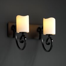 CandleAria Victoria 2 Light Bath Vanity Light