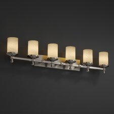 Fusion Deco 6 Light Bath Vanity Light