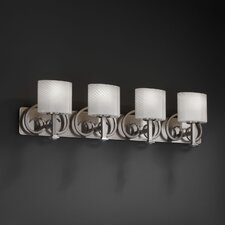 LumenAria Heritage 4 Light Bath Vanity Light Light