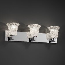 <strong>Justice Design Group</strong> Veneto Luce Modular 3 Light Bath Vanity Light