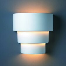 <strong>Justice Design Group</strong> Ambiance Terrace 1 Light Outdoor Wall Sconce