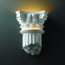 <strong>Justice Design Group</strong> Ambiance 1 Light Wall Sconce