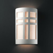 Ambiance Cross 1 Light Outdoor Wall Sconce