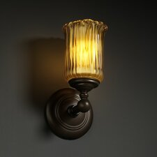 <strong>Justice Design Group</strong> Veneto Luce Tradition 1 Light Wall Sconce