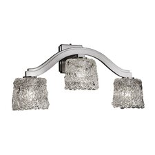 <strong>Justice Design Group</strong> Veneto Luce Bend 3 Light Wall Sconce