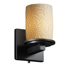 <strong>Justice Design Group</strong> Limoges Dakota 1 Light Wall Sconce