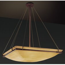 Porcelina 8 Light Inverted Pendant