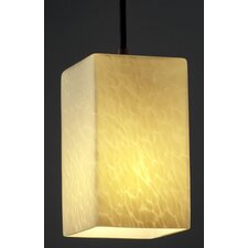 <strong>Justice Design Group</strong> Fusion 1 Light Pendant