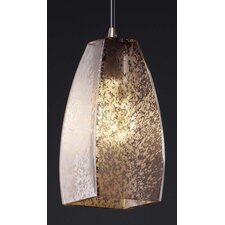 <strong>Justice Design Group</strong> Fusion Small 1 Light Pendant