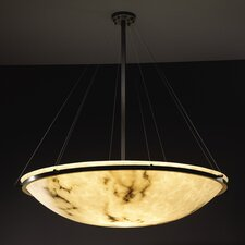 <strong>Justice Design Group</strong> LumenAria 8 Light Inverted Pendant