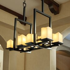 Montana CandleAria 8-Up and 3-Down Light Bridge Chandelier