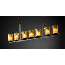 <strong>Justice Design Group</strong> Veneto Luce Dakota 7 Light Chandelier