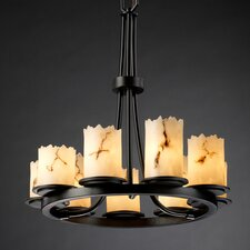 <strong>Justice Design Group</strong> LumenAria Dakota 9 Light Chandelier