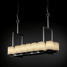 <strong>Justice Design Group</strong> Fusion Montana 14 Light Chandelier with Additional Chain