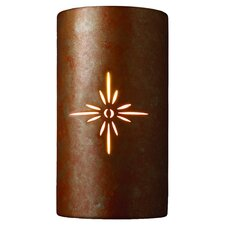 Sun Dagger 1 Light Outdoor Wall Sconce