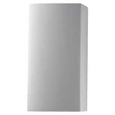 Ambiance Closed Top Small Rectangular 1 Light Wall Sconce