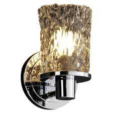 <strong>Justice Design Group</strong> Veneto Luce Rondo 1 Light Wall Sconce