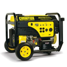 7500/9375 Watt Gas-Powered Electric Start Portable Generator