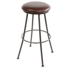 "Monticello 25"" Swivel Bar Stool with Cushion"