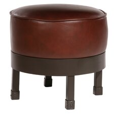 <strong>Stone County Ironworks</strong> Cedarvale Leather Ottoman