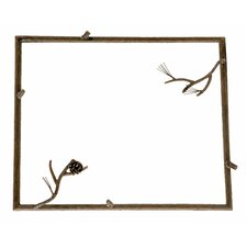<strong>Stone County Ironworks</strong> Pine Small Wall Mirror